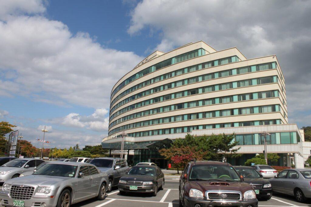 Здание корейск общ-ва